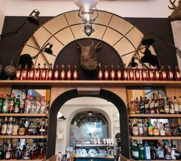 bistrot bar, drinks, interier, industrial design,